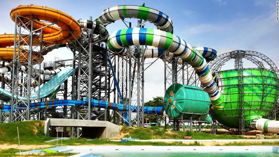 Amazone will be Cartoon Network's first water park, with rides inspired by the channel's most popular characters, including Ben 10, The Powerpuff Girls, Johnny and Johnny Bravo. <strong>Opening date</strong>: late 2013.
