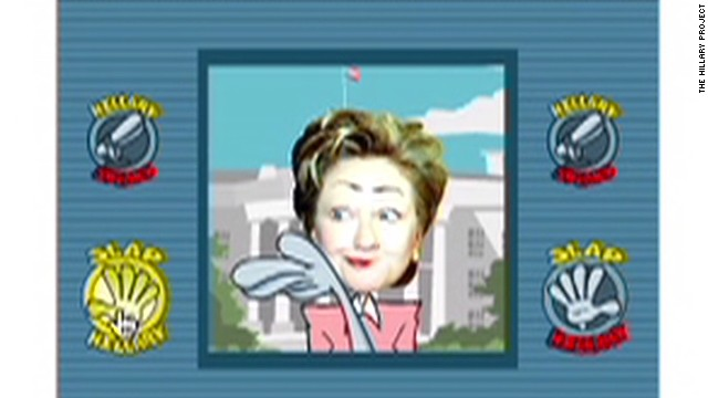 'Slap Hillary' online game causes uproar