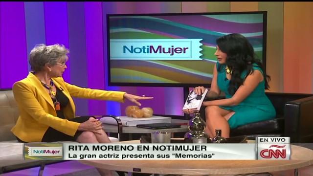 "Rita Moreno presenta sus "" Memorias"""