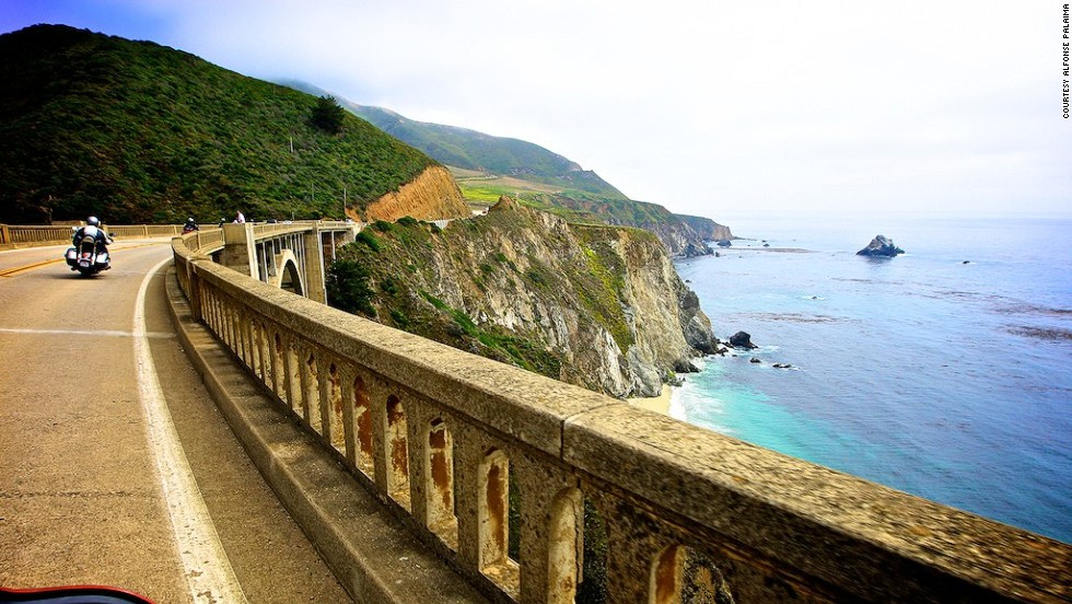 The trip from San Luis Obispo to San Francisco runs past seal-strewn beaches, redwood forests, plunging cliffs and the crashing surf of Big Sur.