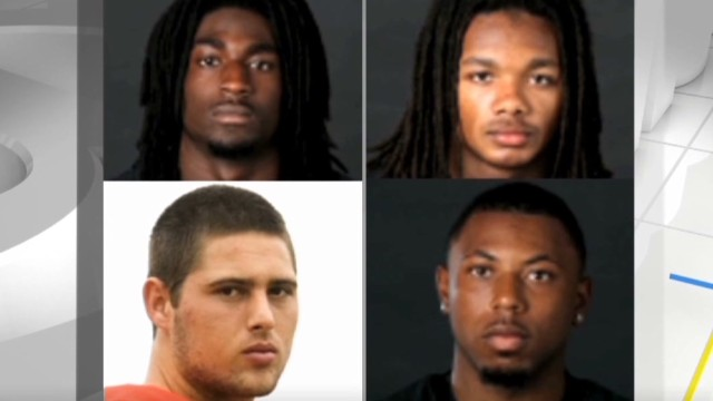 4 ex-Vanderbilt players charged with rape