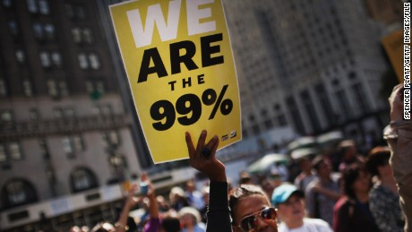 "The Occupy protesters made the catchphrase ""We are the 99%"" part of the national conversation."
