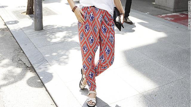 South Korean women wear 'refrigerator pants' to beat the heat ...