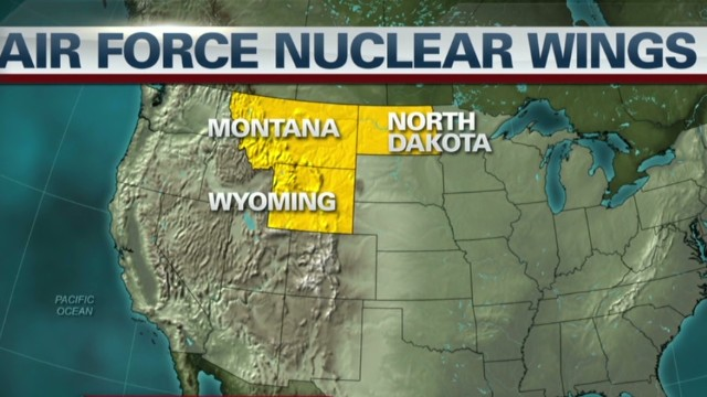 Air Force nuclear unit fails inspection