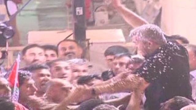 Palestinian prisoners celebrate release