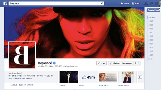 Facebook wants celebrities to interact with their fans more on the networking site.