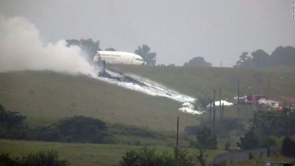 The pilot and co-pilot of a UPS cargo flight died Wednesday, August 14, when their Airbus A300 crashed on approach to Birmingham-Shuttlesworth International Airport in Alabama.