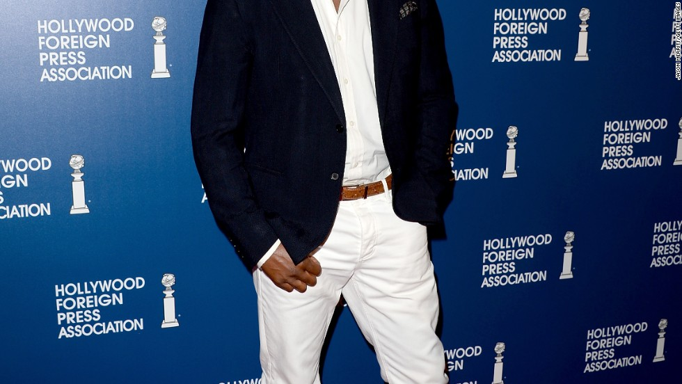 """Ironside"" star Blair Underwood attends the HFPA's 2013 luncheon on August 13."