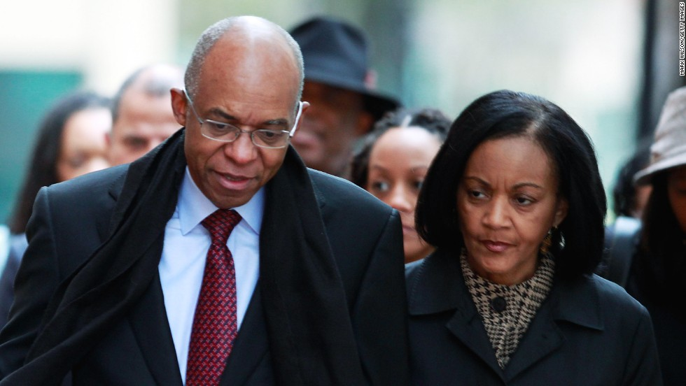 Former U.S. Rep. William Jefferson was sentenced to 13 years in prison in 2009 after being convicted of 11 counts of corruption related to using his office to solicit bribes. The Louisiana Democrat was also ordered to forfeit $470,000.