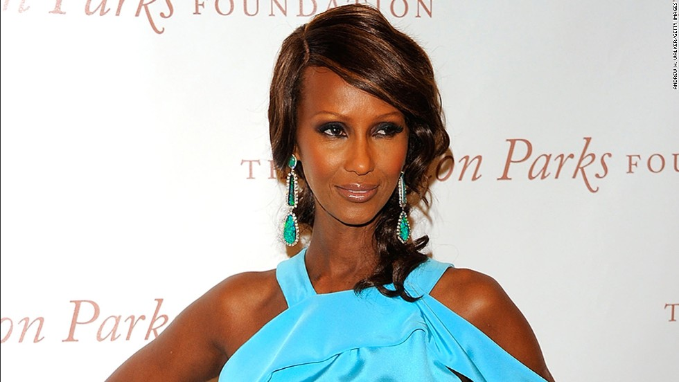 At 59, Iman could still easily book modeling gigs.