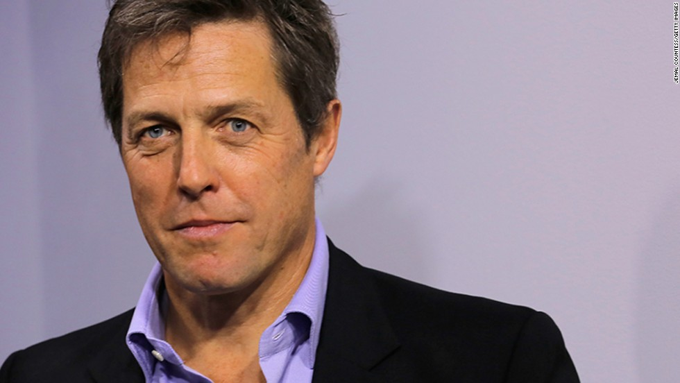 That dapper chap Hugh Grant is 54.