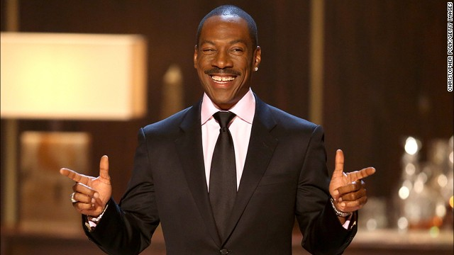 "Eddie Murphy speaks onstage at Spike TV's ""Eddie Murphy: One Night Only"" in 2012 in Beverly Hills, California."
