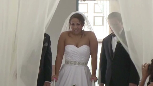 Bride didn't expect to do this at wedding