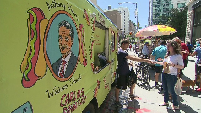 Anthony Weiner-themed food truck hits NY