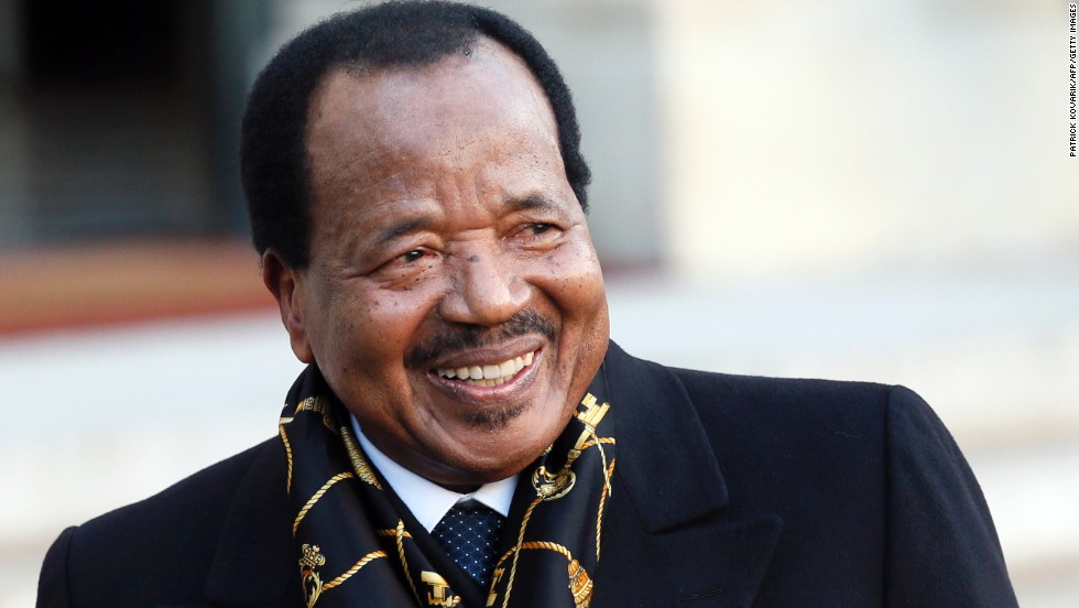 Cameroon's President Paul Biya is 80.
