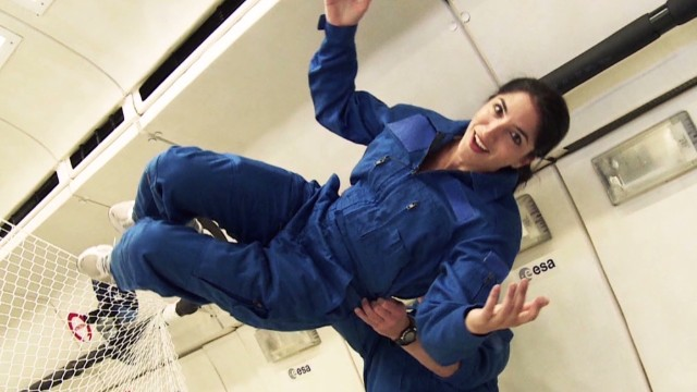 Experiencing zero gravity on earth