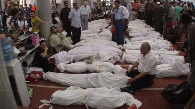 Emam mosque becomes temporary morgue