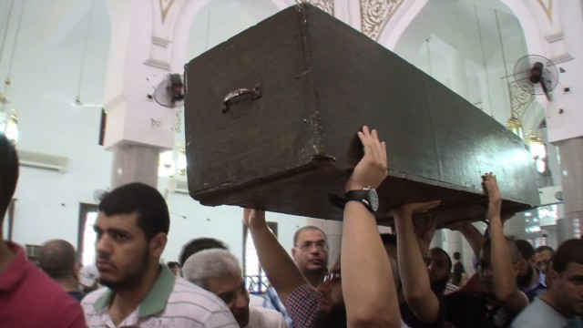 Egypt mosque becomes morgue