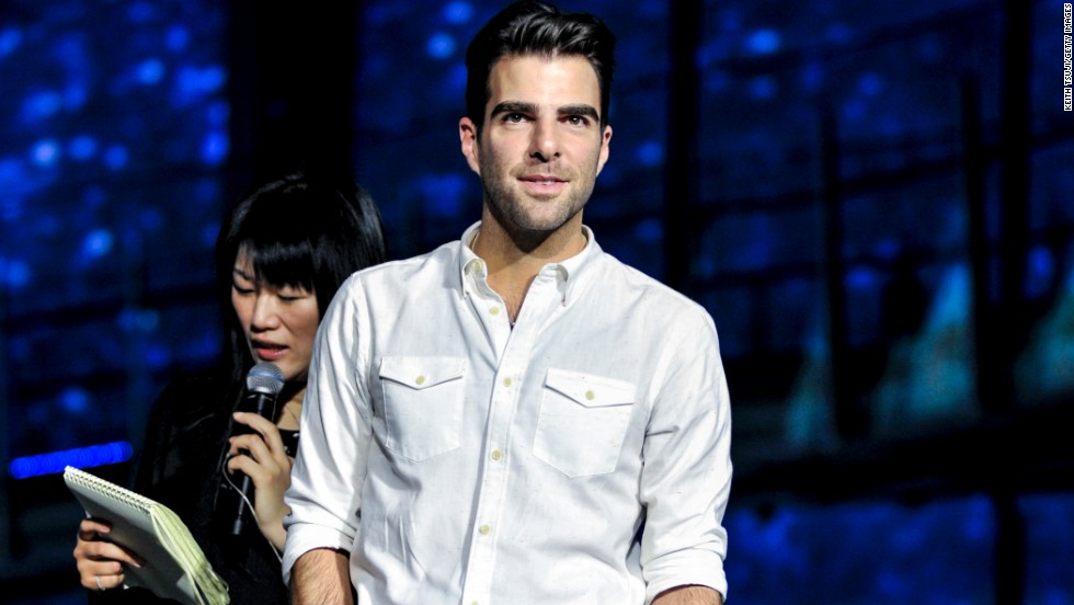 Actor Zachary Quinto attends the 'Star Trek: Into Darkness' Galaxy Carpet event at the National Museum of Emerging Science and Innovation, Miraikan on August 14, 2013 in Tokyo, Japan.