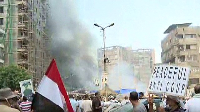 U.S. watching Egypt chaos carefully