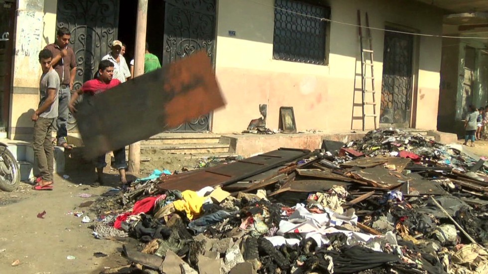 Egypt's churches looted and torched