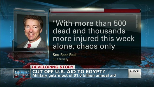 Should the U.S. cut off aid to Egypt?
