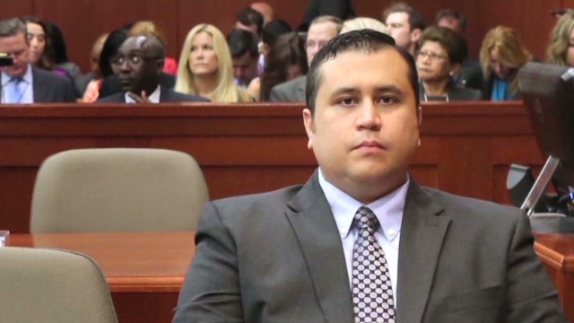 George Zimmerman in police custody
