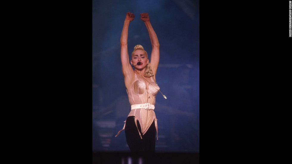 The Blond Ambition Tour took Madonna to Tokyo on April 4, 1990.