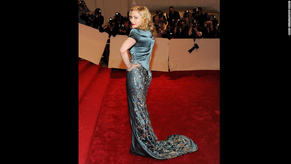 """Madonna attends the """"Alexander McQueen: Savage Beauty"""" Costume Institute Gala at the Metropolitan Museum of Art in New York on May 2, 2011."""