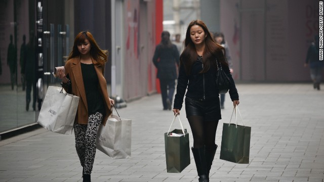 Chinese retail sales were up 13.4% year-on-year, accelerating from 13.2 per cent growth in July.