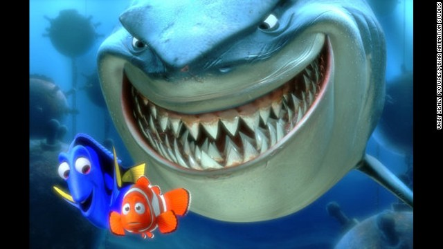 """Decades later, the influence of """"Jaws"""" continues to ripple through pop culture. """"Finding Nemo"""" paid tribute to the movie in 2003 by naming its great white shark Bruce, the on-set nickname of the """"Jaws"""" mechanical shark."""