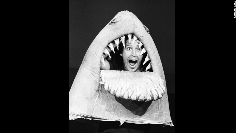"Decades before Syfy became the home of shark-related comedy, ""Saturday Night Live"" introduced ""the cleverest species of them all"" in its ""Land Shark"" sketch. It featured Chevy Chase as the trickster shark who preyed on unsuspecting humans with the lure of telegrams and flowers."