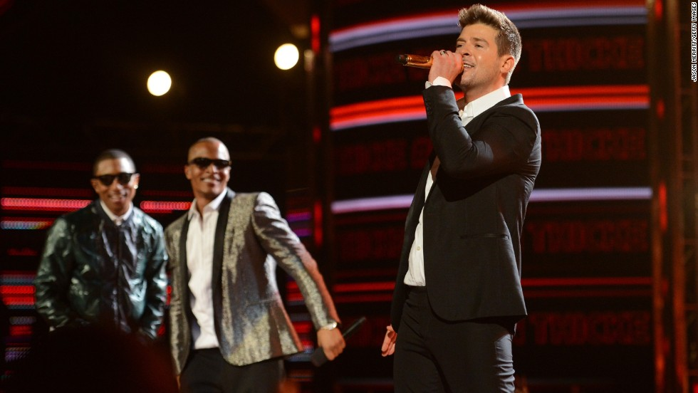 "Robin Thicke, right, had the song of the summer in 2013 with<a href=""http://www.youtube.com/watch?v=yyDUC1LUXSU"" target=""_blank""> ""Blurred Lines.""</a> But the hit was dubbed ""rape-y"" by some with its lyrics ""I know you want it"" <a href=""http://outfront.blogs.cnn.com/2013/06/18/does-robin-thickes-blurred-lines-promote-rape/"">which critics said promoted sexual assault. </a>The music video also came under fire for its use of nude women and spurred <a href=""http://www.youtube.com/watch?v=tKfwCjgiodg"" target=""_blank"">a parody video</a> with scantly-clad men. Not to mention ... well, <a href=""http://www.cnn.com/2013/08/26/showbiz/music/miley-cyrus-mtv-vmas-gaga/index.html"">you know</a>."