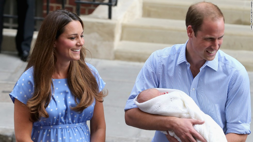 The royal family's love of horses is likely to be passed on to the latest addition -- baby Prince George, who was presented to the world by his proud parents William and Catherine in July.