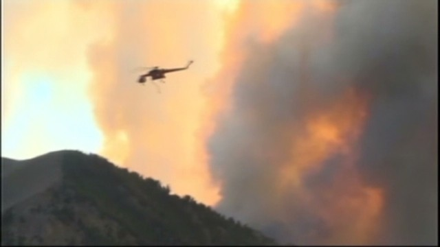 2,200 homes evacuated near Idaho fire