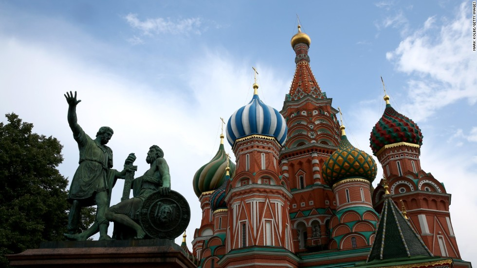 After the rigors of crossing Russia by rail, there's a welcome two-day pause to explore Moscow.