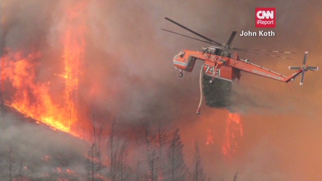Idaho under threat from raging wildfires