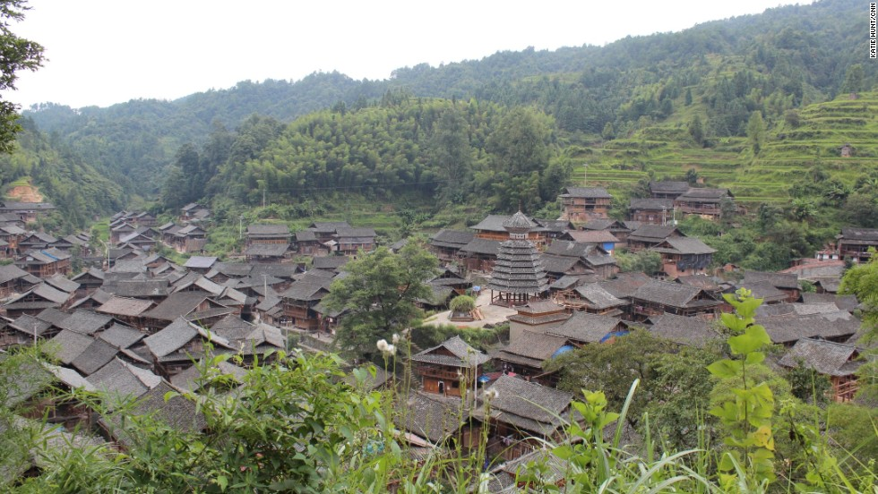 The Dong ethnic minority in southeastern Guizhou build their wooden houses, bridges and drum towers without any nails.