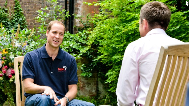 Prince William talks fatherhood