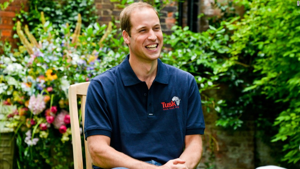 "Prince William gave his first official interview since the birth of his son, <a href=""http://cnn.com/2013/07/24/world/europe/royal-names-history"">Prince George Alexander Louis</a>, to CNN's Max Foster at Kensington Palace in London."