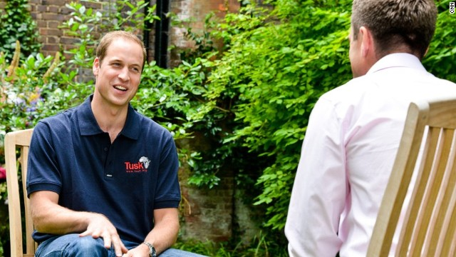 Prince William talks fatherhood