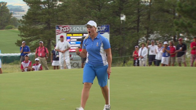 Europe triumphs at Solheim Cup