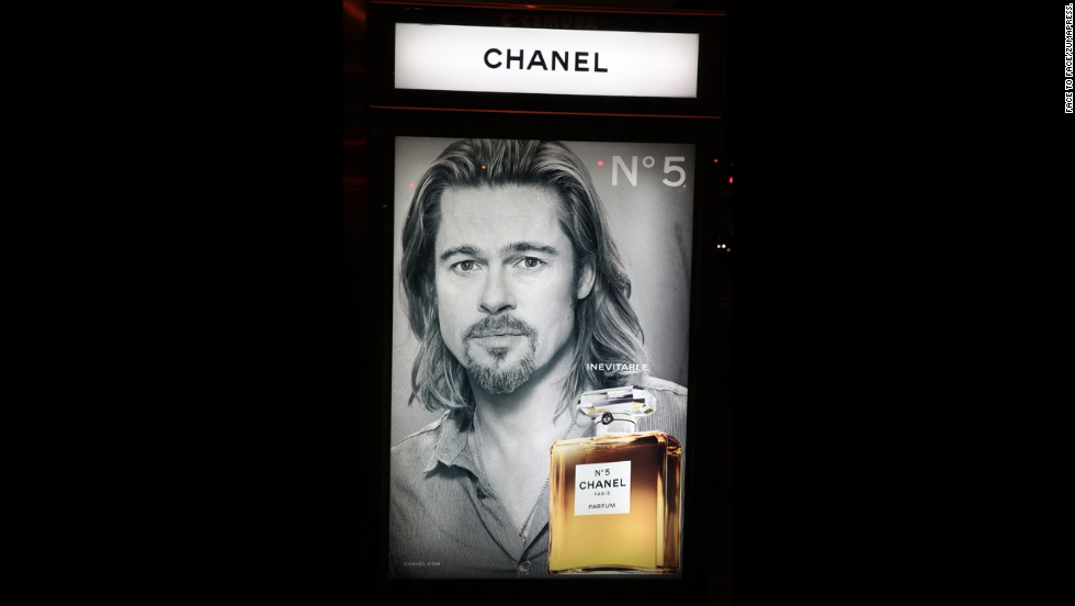 "In 2012, Chanel turned some heads when the fashion house announced that Brad Pitt will be the new face of its women's fragrance. It wasn't long before <a href=""http://marquee.blogs.cnn.com/2012/10/22/snl-spoofs-brad-pitt-brings-in-big-ratings/"" target=""_blank"">""Saturday Night Live"" voiced its opinion</a> on the unconventional choice."