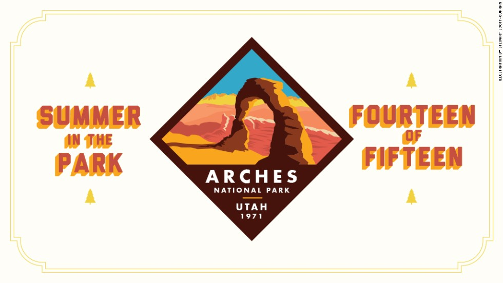 "Arches National Park is home to the world's highest concentration of natural sandstone arches. Be sure to check back next week for the Summer in the Park series finale: <a href=""http://www.nps.gov/ever/index.htm"" target=""_blank"">Everglades National Park.</a>"