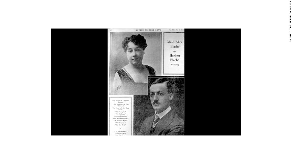 In 1907, she moved to the United States with her husband, Herbert Blache. Three years later, the couple, along with a third Gaumont executive, set up their own production company, Solax.