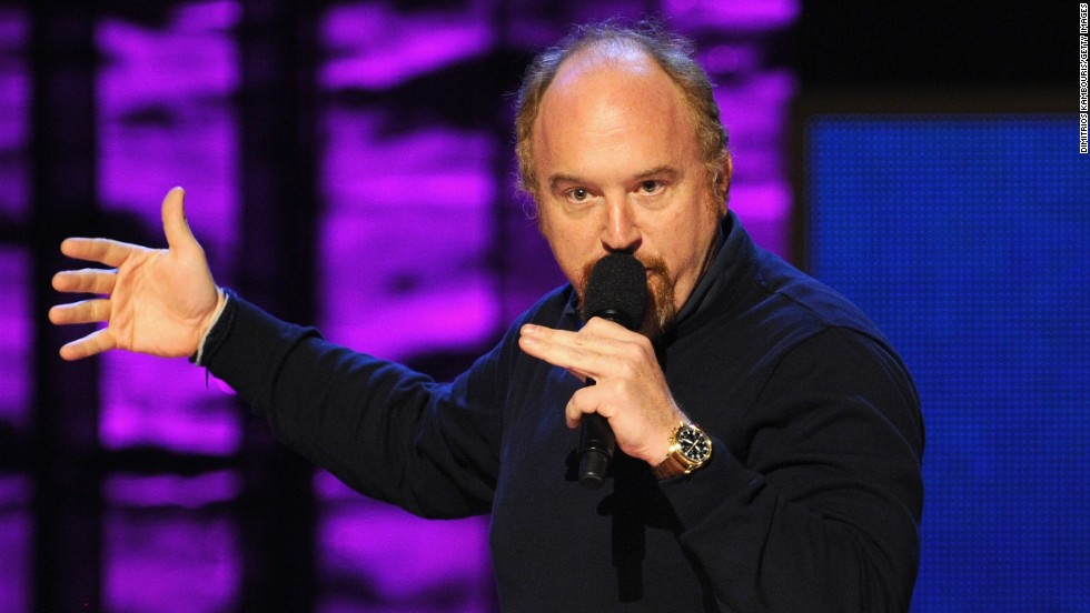 Reason redheads are proud of Louis C.K.: He's arguably the greatest comedian of a generation.