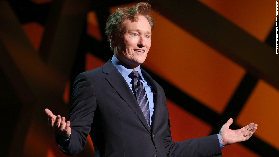 Reason redheads are proud of Conan O'Brien: The hair. It's so amazing it's actually his show's logo.