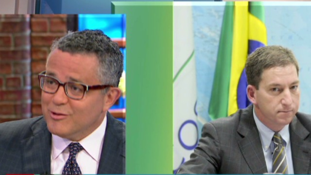 Toobin: Greenwald handling crisis wrong