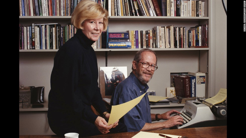 Leonard and his wife, Christine, pose for a photograph in Detroit in 1992.