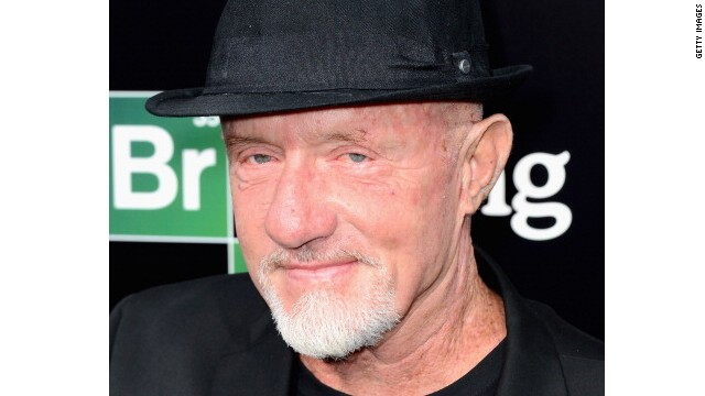 Jonathan Banks celebrates the final episodes of 'Breaking Bad' at Sony Picutres Studios in California.